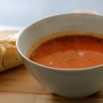 Tomaten basilicum soep