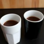 Chocolade koffiepotjes