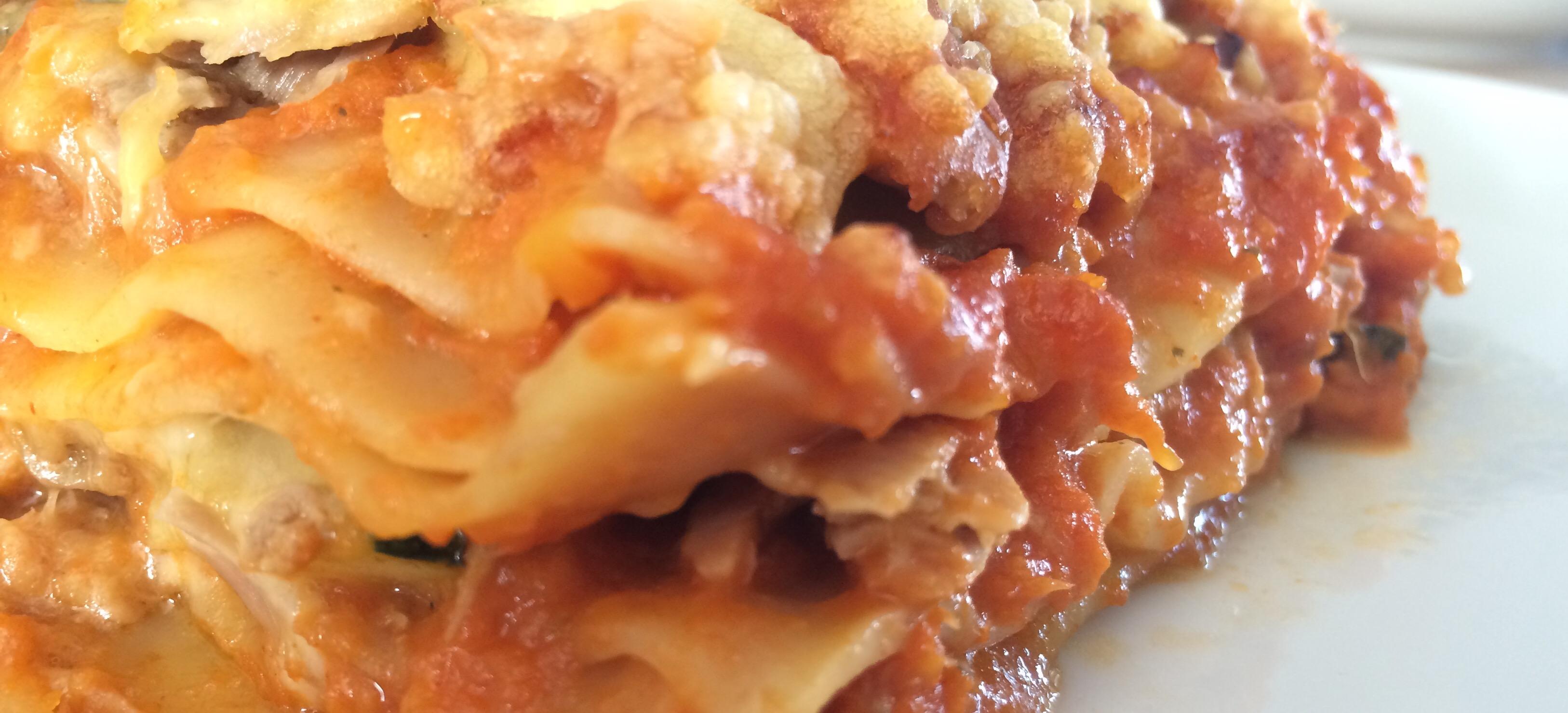Tonijn lasagne