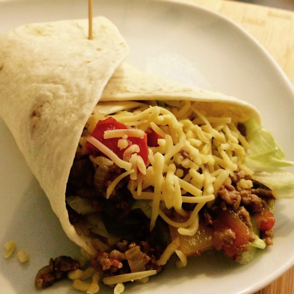 tortilla wraps gehakt