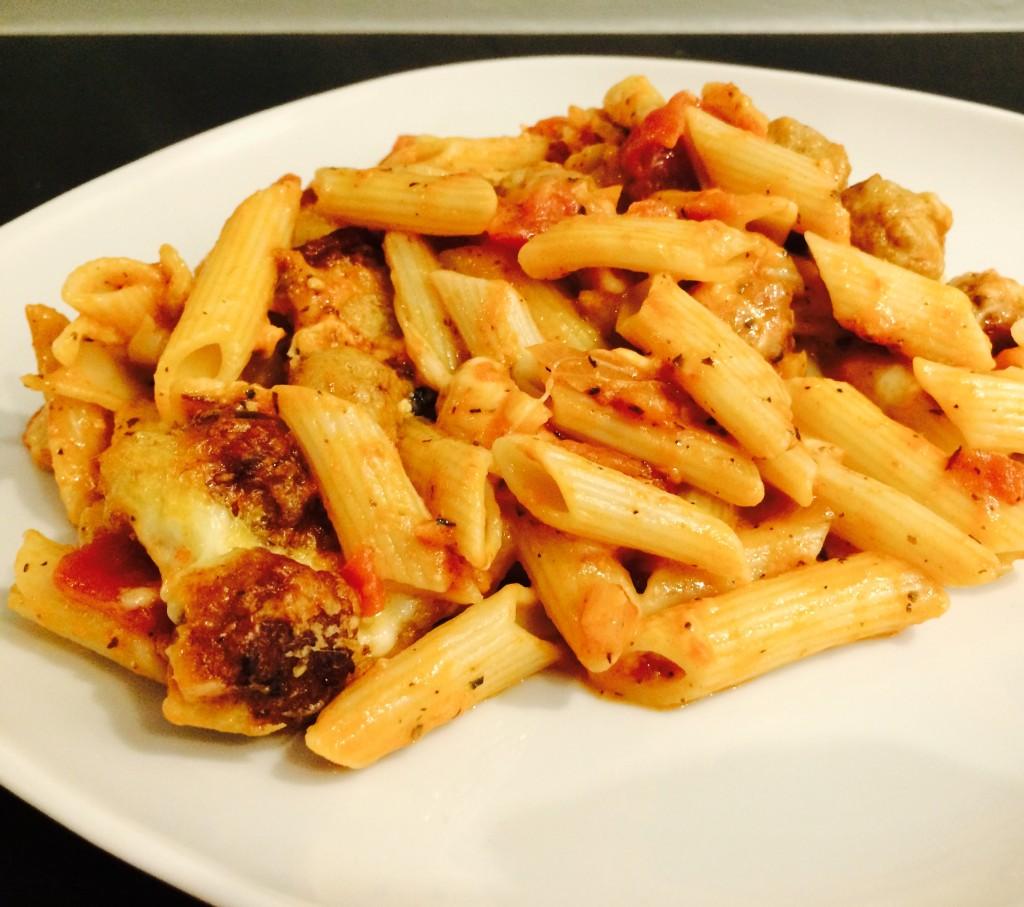 pasta hoofdgerecht